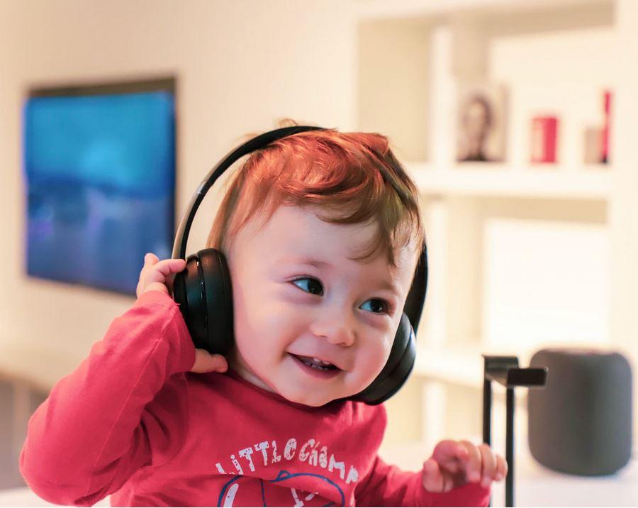 casque audio pour bébé
